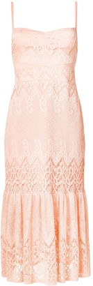 Three floor Farrah fitted slip dress