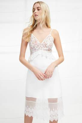 French Connenction Delos Lucky Layer Strappy Dress
