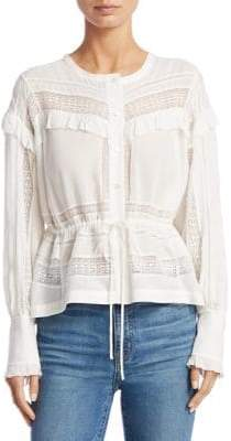IRO Keola Button-Front Blouse