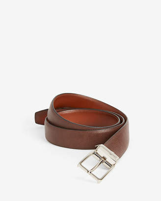 Express Pebbled Stretch Prong Buckle Belt