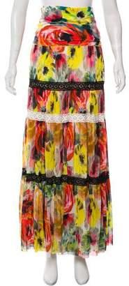 Fuzzi Floral Maxi Skirt w/ Tags