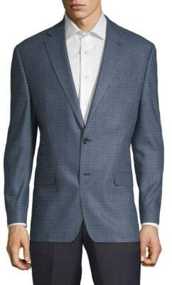 Lauren Ralph Lauren Check Slim Suit Jacket