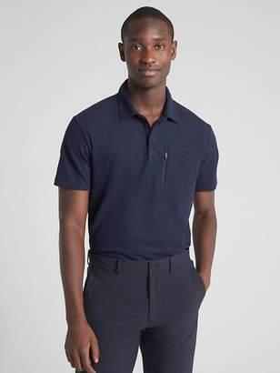 Gap Hybrid Pique Polo Shirt