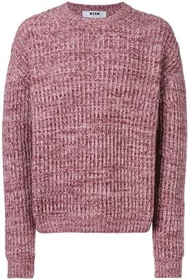 MSGM chunky knit sweater