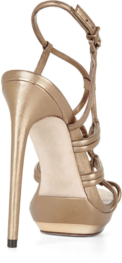 BCBGMAXAZRIA Farrow High-Heel Strappy Dress Sandal