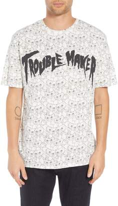 Eleven Paris ELEVENPARIS Trouble Maker Graphic T-Shirt