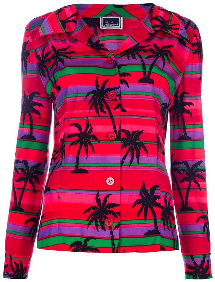 Luisa Spagnoli Vintage Palm tree print jacket