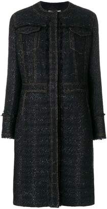 Tory Burch Aria tweed coat