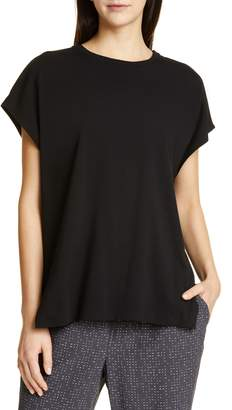 Eileen Fisher High/Low Boxy Top