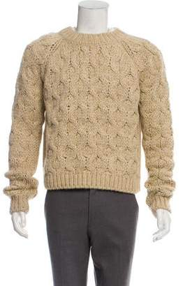 Acne Studios Woven Knit Sweater