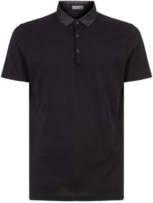 Lanvin Satin Collar Polo Shirt