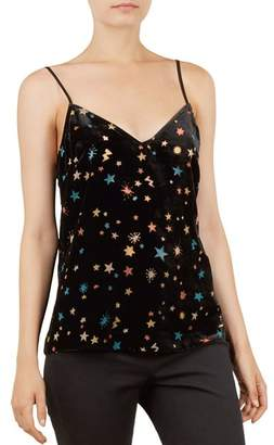 Ted Baker Colour By Numbers Cleira Devore Star Cami Top