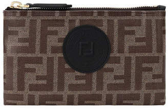 Fendi FF Fabric Medium Wallet