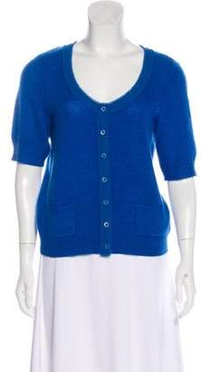 Magaschoni Cashmere Button-Up Cardigan Cashmere Button-Up Cardigan