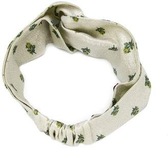 Valentino floral headband