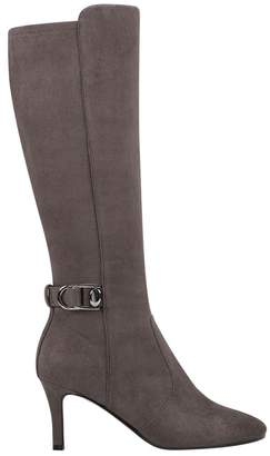 Bandolino Delfie Tall Buckled Stiletto Boot