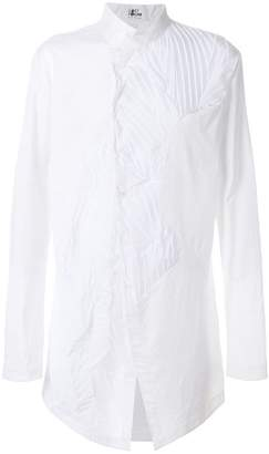 Lost & Found Ria Dunn pleated insert shirt