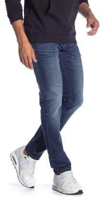 "Lindbergh Tapered Fit Ink Wash Jeans - 32-38"" Inseam"