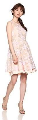 Lily Brown (リリー ブラウン) - [リリーブラウン] フラワー刺繍チュールワンピース LWFO182030 レディース PNK 日本 0 (日本サイズ7 号相当)
