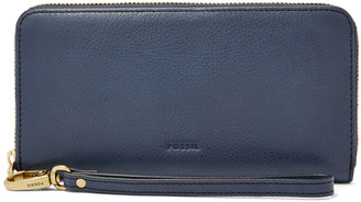 Emma RFID Large Zip Clutch $85 thestylecure.com