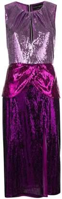 Christian Pellizzari sequin embellished midi dress