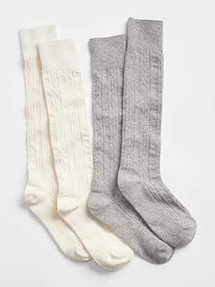 4f491d92037 Ribbed Knee High Socks Girls - ShopStyle