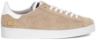 D.A.T.E Sneaker Twist Perforated In Camoscio Beige Traforato