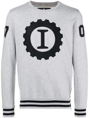 Hydrogen logo patch sweatshirt