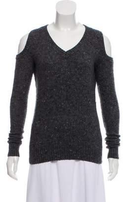 Rebecca Minkoff Wool Cold Shoulder Sweater