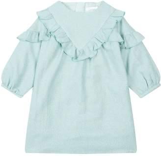 Chloé Lurex Tweed Dress