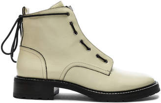 Rag & Bone Leather Cannon Boots in White | FWRD
