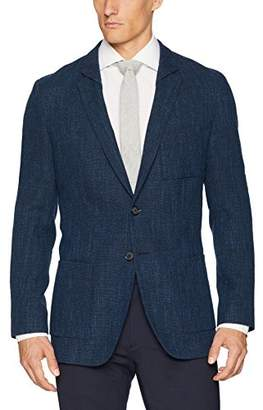 HUGO BOSS HUGO by Men's Oversized Unconstructed Navy Sportcoat-Ulises