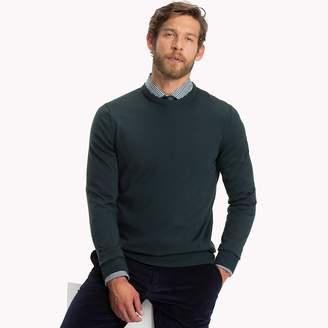 Tommy Hilfiger Luxury Wool Crew Neck Jumper