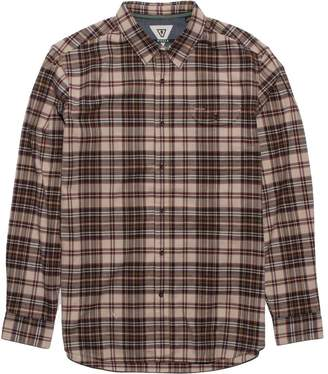 VISSLA Central Coast Long-Sleeve Flannel Shirt - Men's