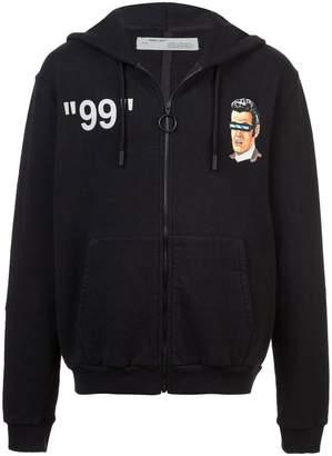 Off-White printed hoodie