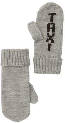Kate Spade Taxi Knit Mittens