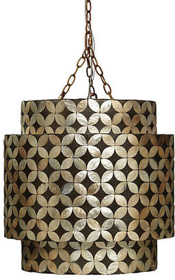 Jamie Young Pacific Chandelier - Capiz Shell