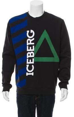 Iceberg Long-Sleeve Logo Sweatshirt w/ Tags