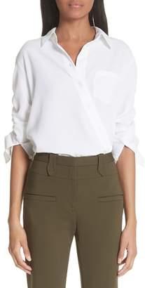 Altuzarra Asymmetrical Button Up Shirt