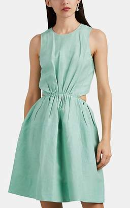 Jil Sander Women's Gelsomino Crepe Shirtdress - Green