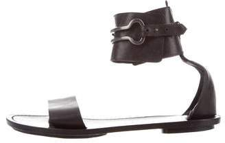 Maiyet Leather Ankle Strap Sandals