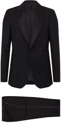 Paul Smith Satin Trim Two-Piece Suit