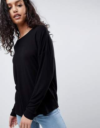 Asos DESIGN Oversized T-Shirt with Batwing Detail