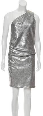 Kaufman Franco KAUFMANFRANCO Sequin One-Shoulder Dress