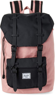 Herschel Strawberry Grid Little America Mid Backpack