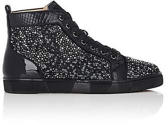 Christian Louboutin Men s Louis Flat Sneakers - Black 4a6c9349d