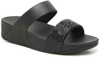 3a49e41b5697f8 FitFlop Black Wedge Women s Sandals - ShopStyle