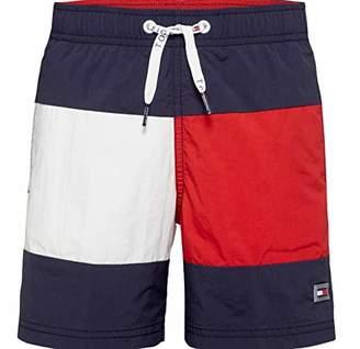 Tommy Hilfiger Boy's Medium Drawstring Swim Shorts,(Size: 14-15)
