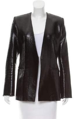 Balmain Metallic Wool Blazer