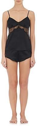 GILDA & PEARL Women's Gilda Lace-Inset Satin Camisole